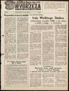 Na Straży Wybrzeża : gazeta marynarki wojennej, 1951, nr 9