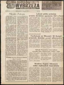 Na Straży Wybrzeża : gazeta marynarki wojennej, 1951, nr 11