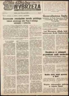 Na Straży Wybrzeża : gazeta marynarki wojennej, 1951, nr 13