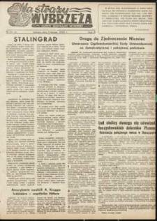 Na Straży Wybrzeża : gazeta marynarki wojennej, 1951, nr 25