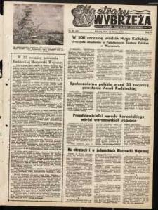 Na Straży Wybrzeża : gazeta marynarki wojennej, 1951, nr 36