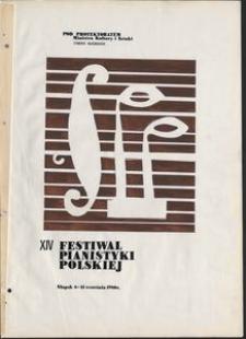 Kronika : 14 Festiwal Pianistyki Polskiej