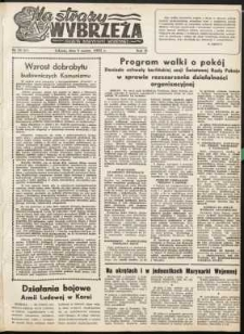 Na Straży Wybrzeża : gazeta marynarki wojennej, 1951, nr 50