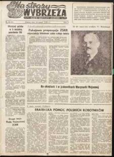 Na Straży Wybrzeża : gazeta marynarki wojennej, 1951, nr 56