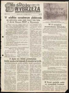 Na Straży Wybrzeża : gazeta marynarki wojennej, 1951, nr 75