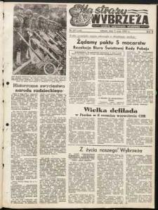 Na Straży Wybrzeża : gazeta marynarki wojennej, 1951, nr 107