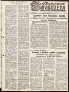 Na Straży Wybrzeża : gazeta marynarki wojennej, 1951, nr 138