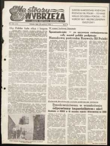 Na Straży Wybrzeża : gazeta marynarki wojennej, 1951, nr 146