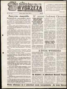 Na Straży Wybrzeża : gazeta marynarki wojennej, 1951, nr 156