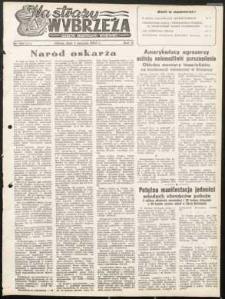 Na Straży Wybrzeża : gazeta marynarki wojennej, 1951, nr 180