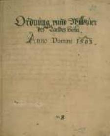 Odpisy prawa miejskiego oraz przywilejów dla obywateli Helu [1583-1621]