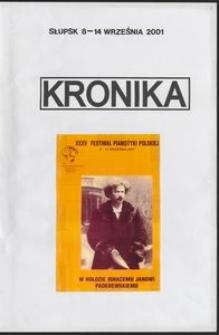 Kronika : 35 Festiwal Pianistyki Polskiej