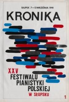 Kronika : 25 Festiwal Pianistyki Polskiej