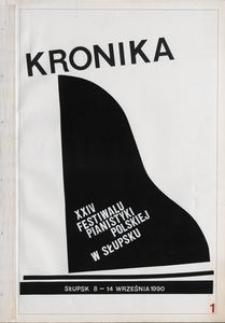 Kronika : 24 Festiwal Pianistyki Polskiej