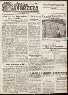 Na Straży Wybrzeża : gazeta marynarki wojennej, 1951, nr 278