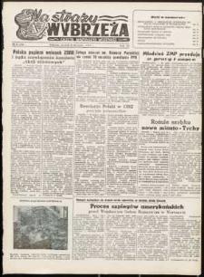 Na Straży Wybrzeża : gazeta marynarki wojennej, 1952, nr 6