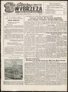 Na Straży Wybrzeża : gazeta marynarki wojennej, 1952, nr 7
