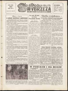 Na Straży Wybrzeża : gazeta marynarki wojennej, 1952, nr 61