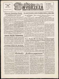 Na Straży Wybrzeża : gazeta marynarki wojennej, 1952, nr 67