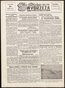 Na Straży Wybrzeża : gazeta marynarki wojennej, 1952, nr 90