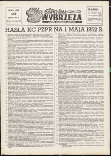 Na Straży Wybrzeża : gazeta marynarki wojennej, 1952, nr 98