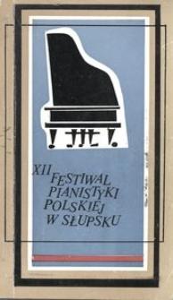 Festiwal Pianistyki Polskiej (12 ; 1978 ; Słupsk)
