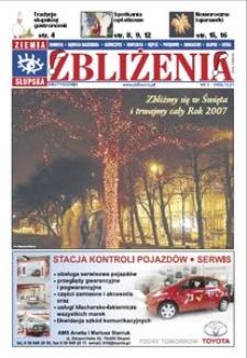 Zbliżenia : dwutygodnik regionalny, 2007, nr 1
