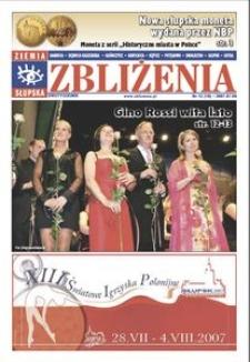 Zbliżenia : dwutygodnik regionalny, 2007, nr 13