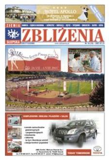 Zbliżenia : dwutygodnik regionalny, 2007, nr 14