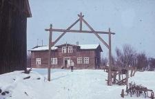 Brama w zagrodzie Rolbieckiego - Tuszkowy
