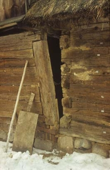 Jednownętrzny chlew z 1780 roku z podcieniem gospodarczym - Kaliska