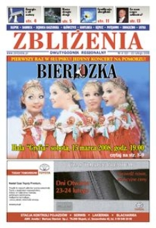 Zbliżenia : dwutygodnik regionalny, 2008, nr 4