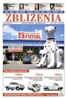 Zbliżenia : dwutygodnik regionalny, 2008, nr 10