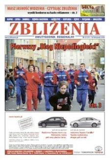 Zbliżenia : dwutygodnik regionalny, 2008, nr 23