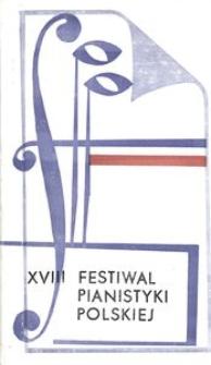 Festiwal Pianistyki Polskiej (18 ; 1984 ; Słupsk)