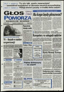 Głos Pomorza, 1990, listopad, nr 272