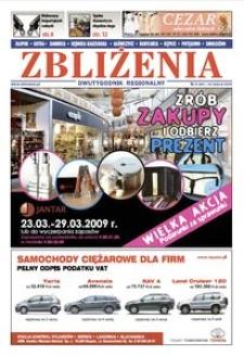 Zbliżenia : dwutygodnik regionalny, 2009, nr 6