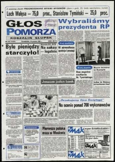 Głos Pomorza, 1990, grudzień, nr 287