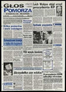 Głos Pomorza, 1990, grudzień, nr 299