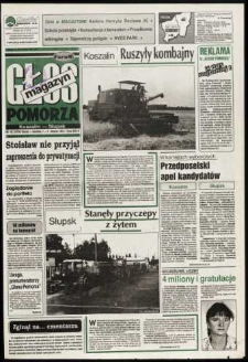 Głos Pomorza, 1993, sierpień, nr 182