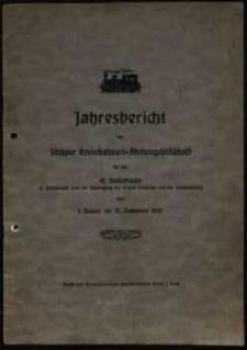 Jahresbericht der Stolper Kreisbahnen-Aktiengesellschaft für das 42. Geschäftsjahr vom 1. Januar bis 31. Dezember 1935