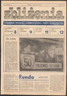Zbliżenia : tygodnik społeczno-polityczny, 1980, nr 1