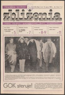 Zbliżenia : tygodnik społeczno-polityczny, 1980, nr 11