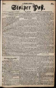 Stolper Post Nr. 4/1901