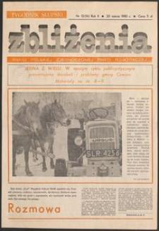 Zbliżenia : tygodnik społeczno-polityczny, 1980, nr 12