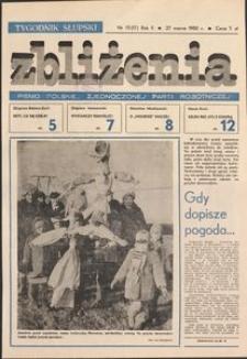 Zbliżenia : tygodnik społeczno-polityczny, 1980, nr 13