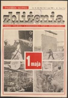 Zbliżenia : tygodnik społeczno-polityczny, 1980, nr 18