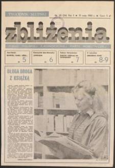 Zbliżenia : tygodnik społeczno-polityczny, 1980, nr 20