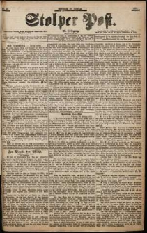 Stolper Post Nr. 42/1901