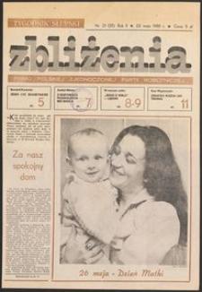 Zbliżenia : tygodnik społeczno-polityczny, 1980, nr 21